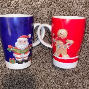 LENOX 2-Cup Christmas Cups NEW